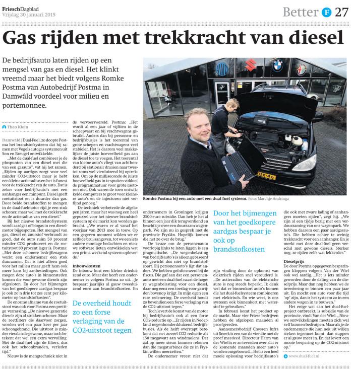Dual Fuel brandstofsystemen besparing brandstofprijzen goedkoop tanken energie vergelijken