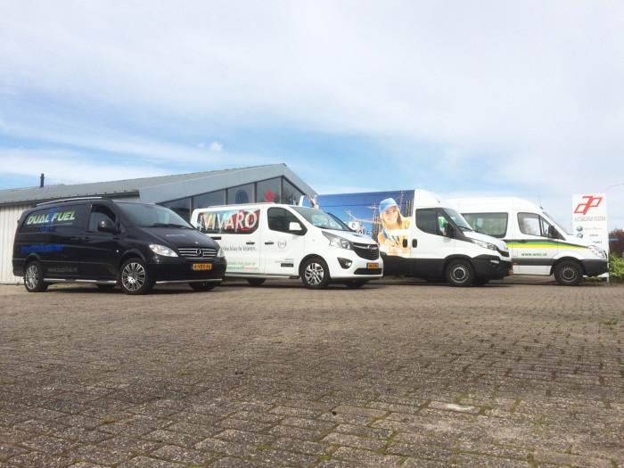 WMR Rinsumageest l Dual Fuel brandstofsystemen besparing brandstofprijzen goedkoop tanken energie vergelijken bedrijfswagenpark