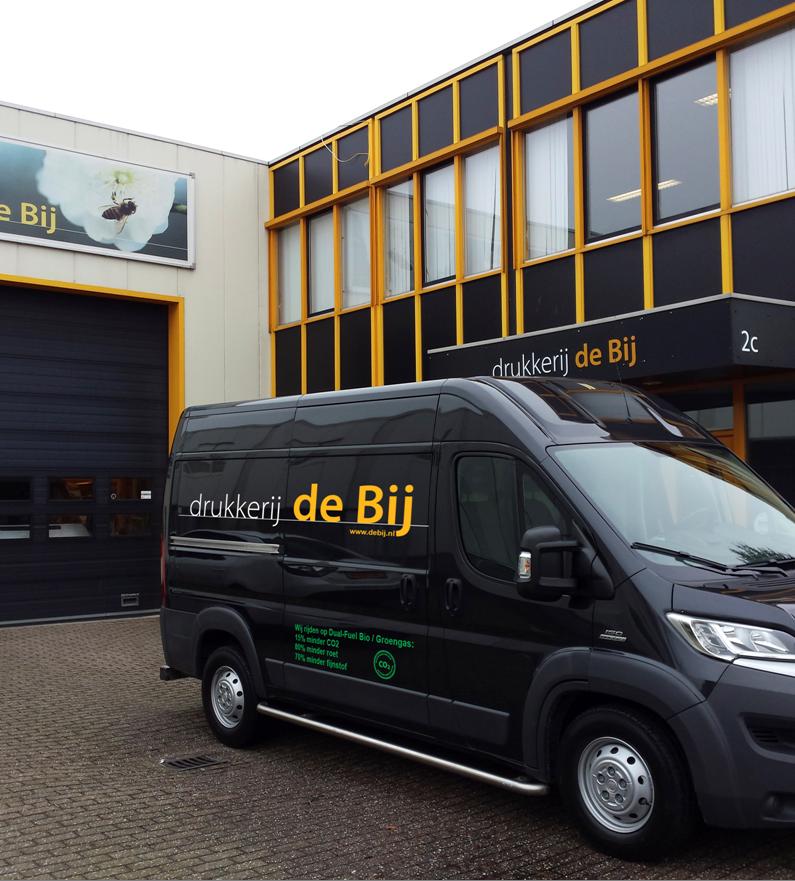 Cnossen Infra Drukkerij de BIj Amsterdam Dual Fuel brandstofsystemen besparing brandstofprijzen goedkoop tanken energie vergelijken