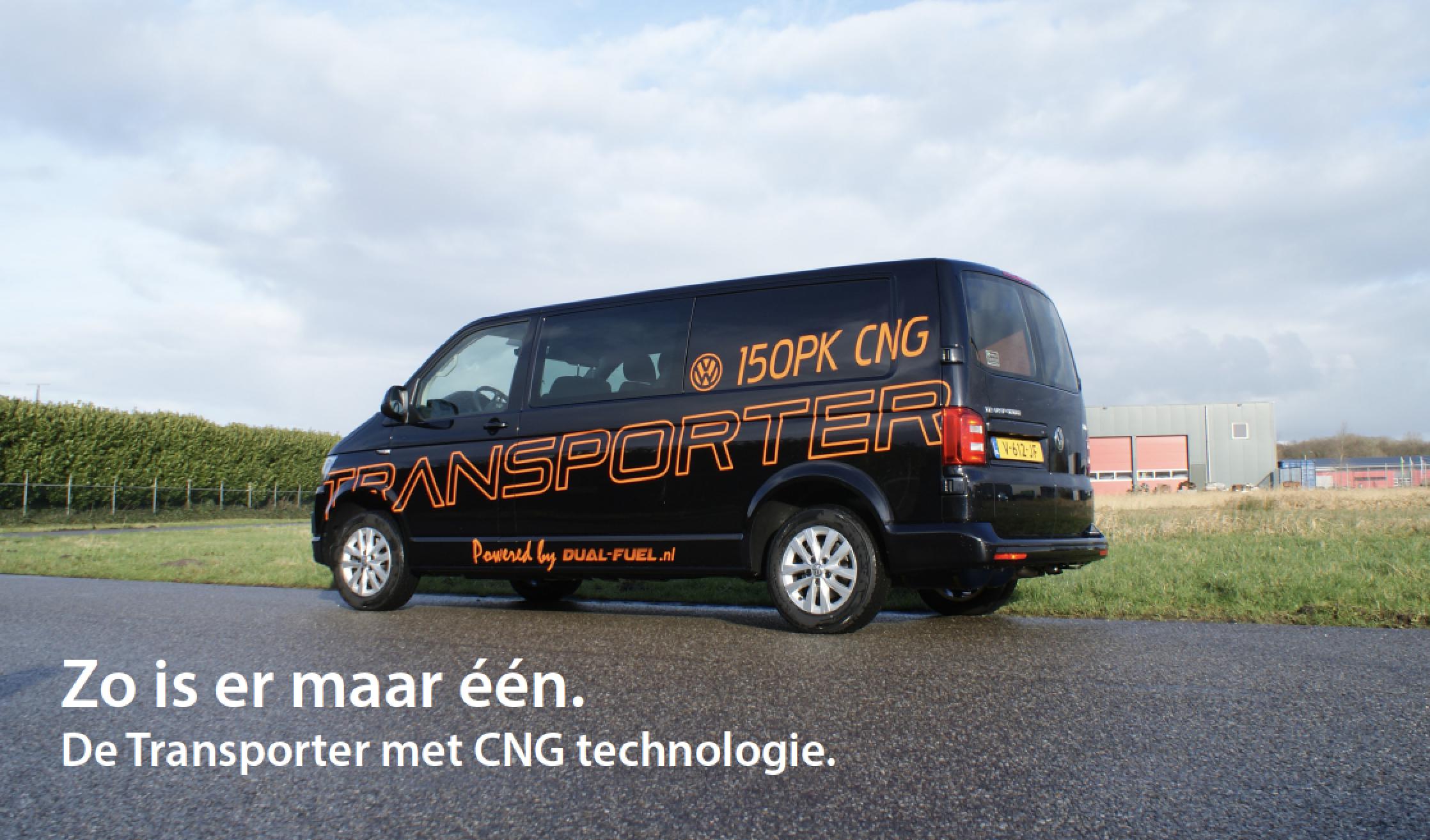 VW Transporter TSI CNG-Dual-Fuel-Brandstofsystemen